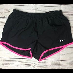 Nike Tempo Running Shorts Black Pink Small M1